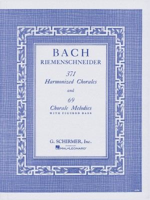J.S. Bach: 371 Harmonized Chorales And 69 Chorale Melodies With Figured Bass Product Image