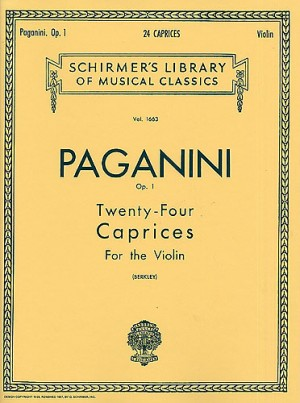 Niccolo Paganini: Twenty-Four Caprices For Solo Violin Op.1