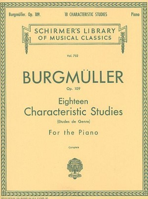 Friedrich Burgmuller: Eighteen Characteristic Studies Op.109
