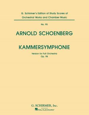Arnold Schoenberg: Kammersymphonie Op.9b (Full Score)