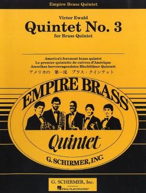 Victor Ewald: Brass Quintet No.3 In Db Major