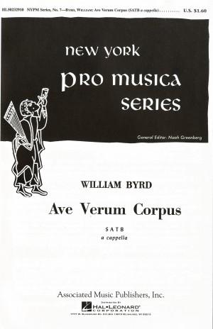 William Byrd: Ave Verum Corpus (Greenberg)