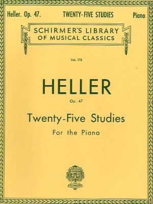 Stephen Heller: Twenty Five Studies For The Piano Op. 47