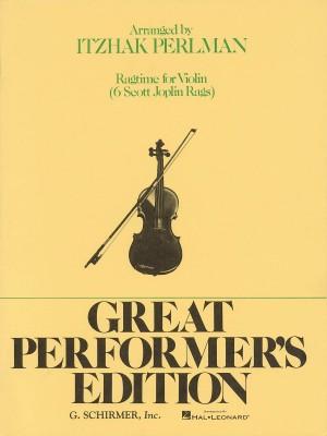 Ragtime For Violin - Six Scott Joplin Rags