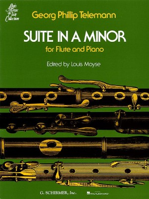 Georg Philipp Telemann: Suite In A Minor For Flute And Piano
