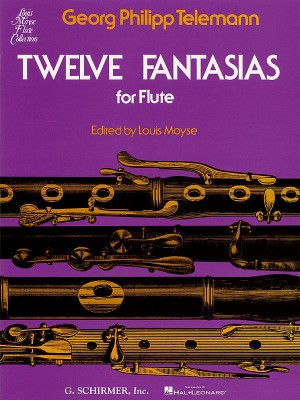 Georg Philipp Telemann: Twelve Fantasies For Solo Flute