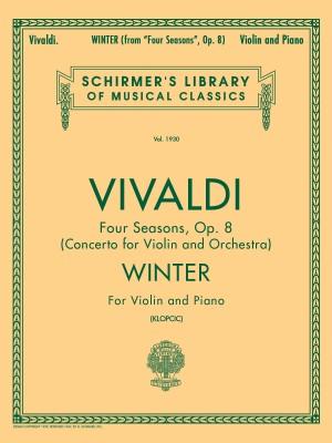 Antonio Vivaldi: Winter (Four Seasons Op.8) - Violin/Piano