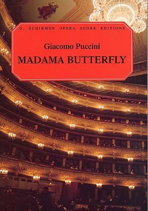 Giacomo Puccini: Madama Butterfly (Vocal Score)- Schirmer Edition