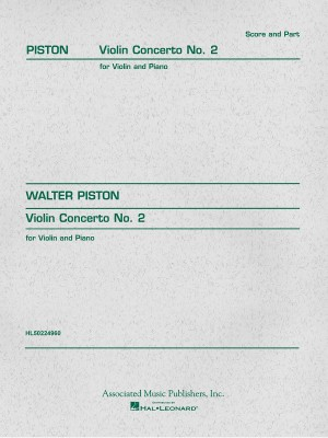 Walter Piston: Violin Concerto No.2