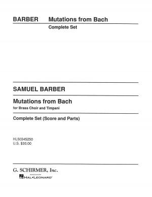 Samuel Barber: Mutations From Bach