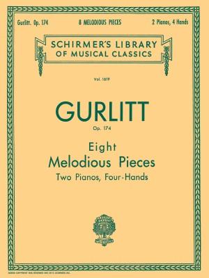 Cornelius Gurlitt: Eight Melodious Pieces Op.174 (2 Pianos)