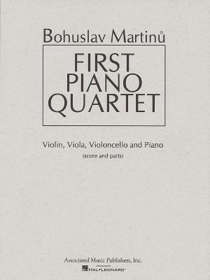 Bohuslav Martinu: First Piano Quartet (Score/Parts)