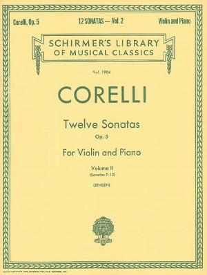 Arcangelo Corelli: Twelve Violin Sonatas Op.5 Vol.2 (Nos. 7-12)