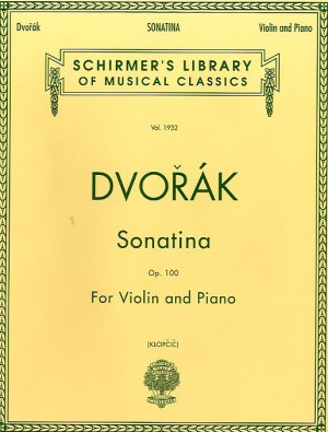 Antonin Dvorak: Sonatina 'Indian Lament' For Violin And Piano Op.100