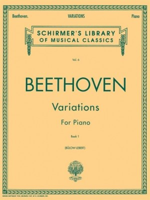 Ludwig van Beethoven: Variations For Piano Book 1