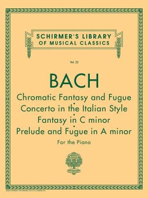 Johann Sebastian Bach: Chromatic Fantasy And Fugue