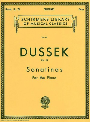 Jan Dussek: Six Sonatinas Op.20 Piano