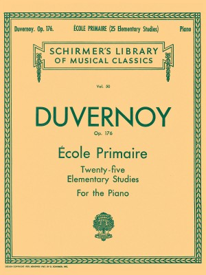 Jean-Baptiste Duvernoy: Ecole Primaire (25 Elementary Studies For Piano) Op.176