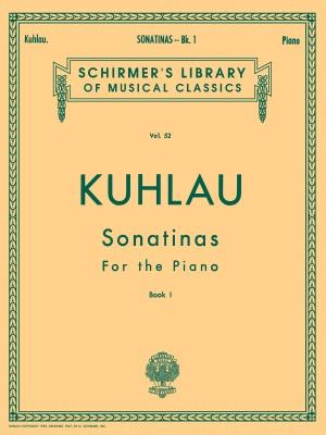 Friedrich Kuhlau: Sonatinas Book 1