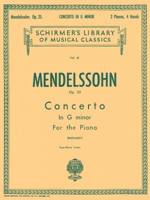 Felix Mendelssohn Bartholdy: Piano Concerto No.1 In G Minor Op.25