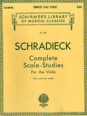 Henry Schradieck: Complete Scale Studies For The Violin (Authorized Edition)