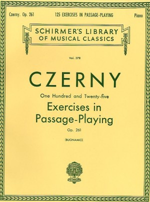 Carl Czerny: 125 Exercises in Passage Playing Op.261