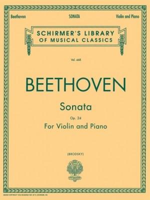 Ludwig van Beethoven: Sonata in F Major, Op. 24