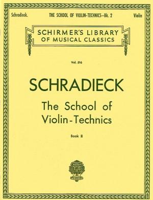Henry Schradieck: School Of Violin Technics- Book 2 (Double Stops)