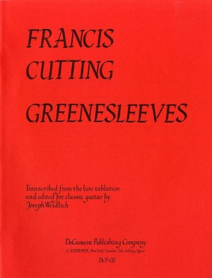 Francis Cutting: Greenesleeves Variations (Guitar)