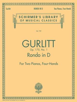 Cornelius Gurlitt: Rondo In D Op.175 No.1 (2 Pianos)