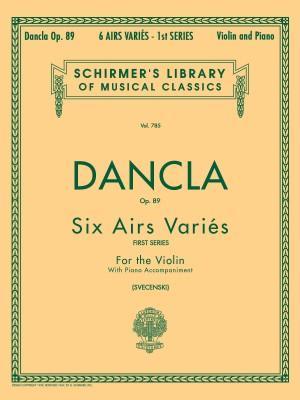 Charles Dancla: Six Airs Varies (First Series) Op.89