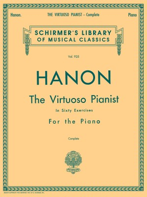 Hanon: The Virtuoso Pianist In Sixty Exercises For The Piano (Complete) Product Image