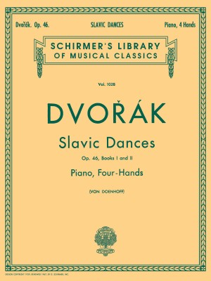 Antonin Dvorak: Slavonic Dances Op.46 Books 1 And 2 (Piano Duet)