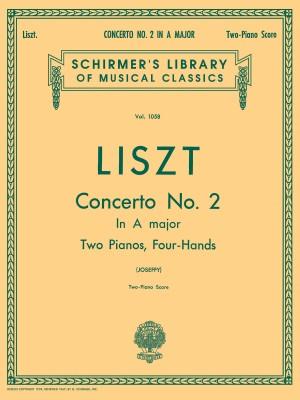 Franz Liszt: Piano Concerto No.2 In A