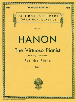 Hanon: The Virtuoso Pianist In Sixty Exercises For The Piano I