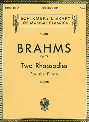Johannes Brahms: Two Rhapsodies Op.79