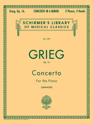 Edvard Grieg: Piano Concerto In A Minor Op.16 (Two Pianos)
