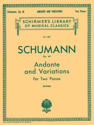 Robert Schumann: Andante And Variations Op.46 (Two Pianos)
