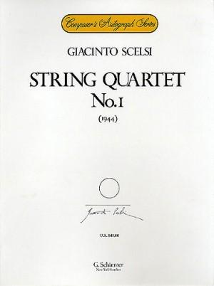 Giacinto Scelsi: String Quartet No.1 (Score/Parts)