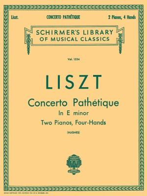 Franz Liszt: Concerto Pathetique In E Minor