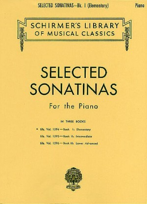 Selected Sonatinas For Piano: Book 1 Elementary