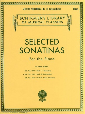 Selected Sonatinas For Piano - Book 2 (Intermediate)