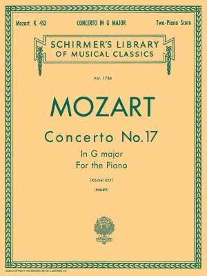W.A. Mozart: Piano Concerto No.17 In G K.453 (2 Piano Score)