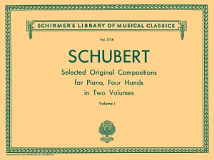 Franz Schubert: Selected Original Compositions For Piano Duet Volume I