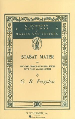 Giovanni Pergolesi: Stabat Mater (Vocal Score)- Upper Voices