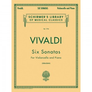 Antonio Vivaldi: Six Sonatas For Double Bass And Piano