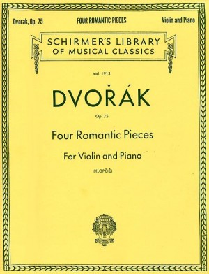Antonin Dvorak: Four Romantic Pieces For Violin And Piano