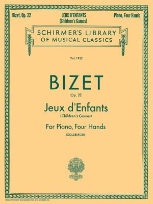 Georges Bizet: Jeux D'Enfants Op.22 (Piano Duet)
