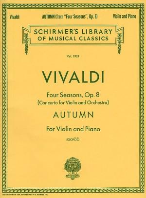 Antonio Vivaldi: Autumn From 'Four Seasons' Op.8 (Violin/Piano)