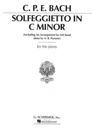 C.P.E. Bach: Solfeggietto In C Minor (Two Versions)